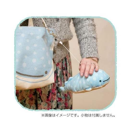 "Picture of San-X ""Jinbei-San"" Mr. Whale Shark Plush Train Pass"