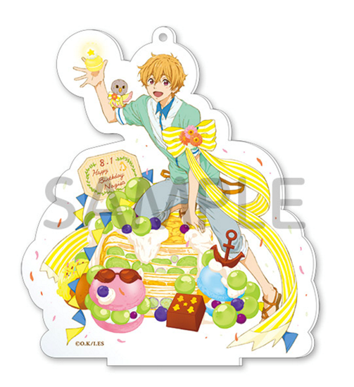 Picture of Free! Fresh Fruit Birthday Goods Nagisa Acrylic Charm Stand