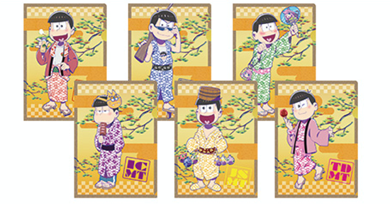 Picture of Oedo Onsen Osomatsu-san Collaboration Clear File