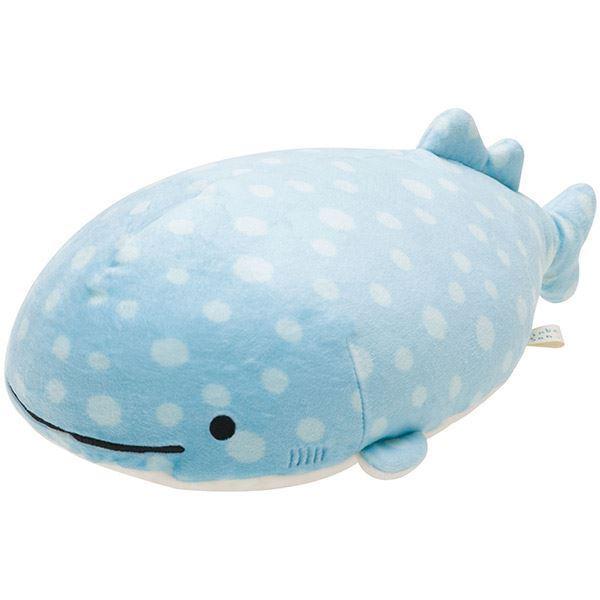 Aitai Kuji Medium San X Jinbei San Mr Whale Shark Plush