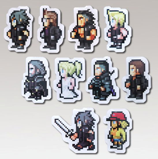 Picture of Final Fantasy XV Limited Cafe Goods Pixel Pins