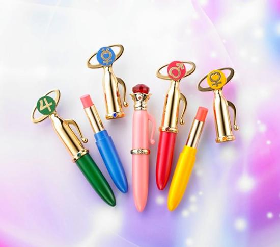 Picture of Sailor Moon Sailor Scouts Make-Up Moisture Rouge Lip Balm