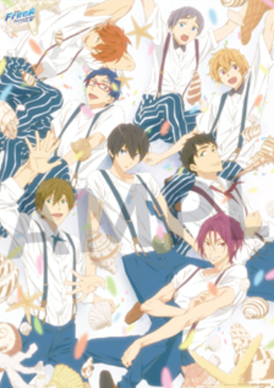 Picture of Free! Timeless Medley Bonds Movie Goods Poster B