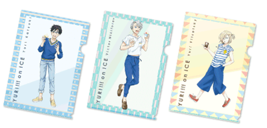 Picture of Yuri On Ice Mini Stop Convenience Store Collaboration Goods Clear Files Vol. 1