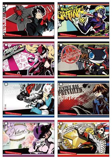 Picture of Persona 5 Marui Limited Shop Goods Train Pass Case