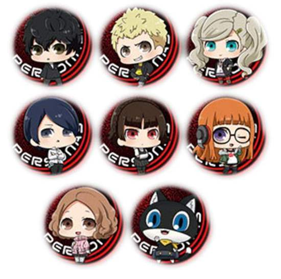 Picture of Persona 5 Marui Limited Shop Goods Lottery Large Chibi Can Badges
