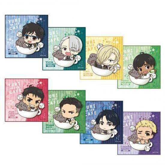 Picture of Yuri On Ice Cafe Limited Edition Goods Micro Fiber Towels BLIND PACKS