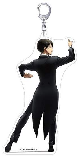 Picture of Welcome to the Ballroom x Attack On Titan Levi Acrylic Charm