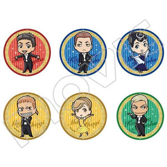 Picture of Welcome to the Ballroom Movic Character Badge Sets