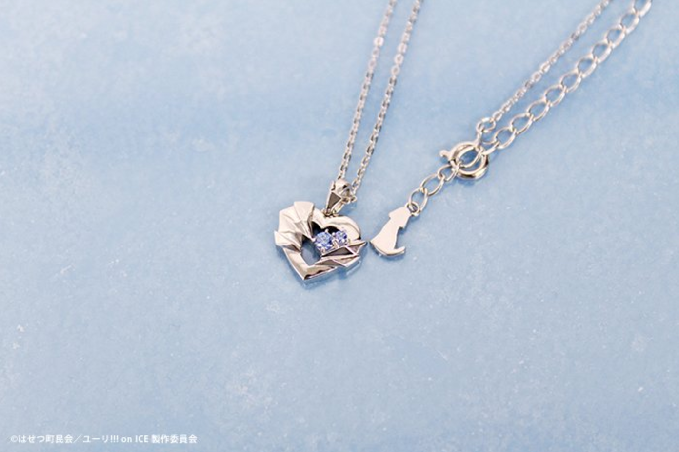 Aitaikuji yuri on ice white clover jewelry rhinestone pendant white clover a japanese jewelry brand will be coming out with beautiful yuri on ice themed sterling silver necklaces made in the themes of yuri aloadofball Image collections