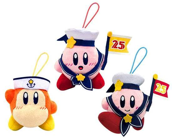 Picture of Kirby 25th Anniversary Sailor Outfit Game Center Prize Plush