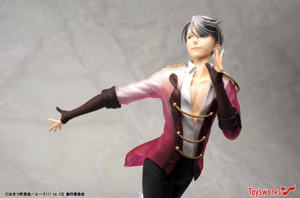 Toys Works Will Be Making A Series Of Yuri On Ice 1 8 Scale Figurines For Victor And Yurio First In The Line Everyones