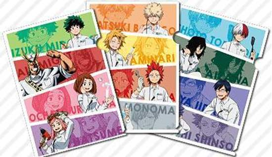 Picture of Boku No Hero Academia x Tokyu Hands Collaboration Goods Clear Files