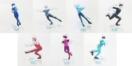 Picture of Yuri On Ice Concert Yuri On Grand Prix Acrylic Stands