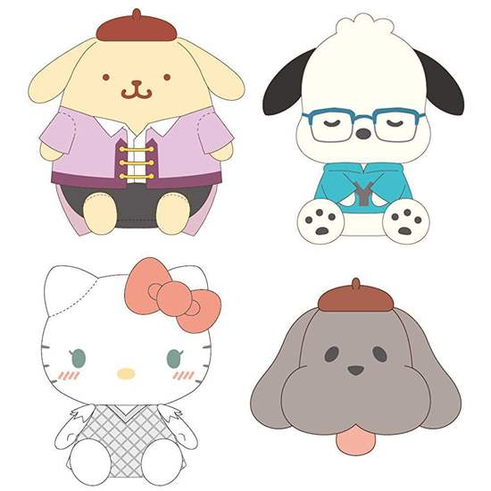 Picture of Yuri On Ice Sanrio Collaboration Official Large Plush Vol. 1 SECOND RESERVATION
