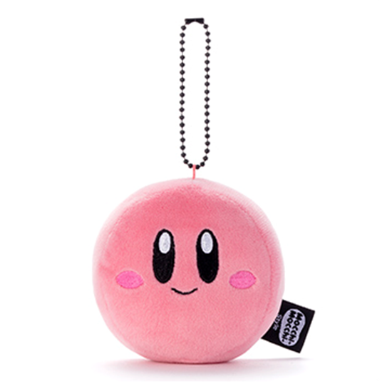 Picture of Kirby 25th Anniversary Mocchi Mocchi Style Face Keychains
