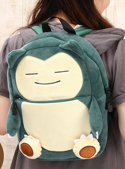 Aitai☆Kuji - Pokemon Snorlax Plush Backpack