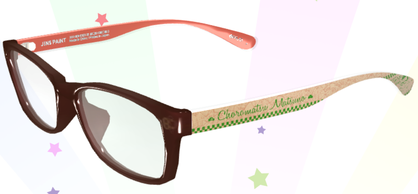 c45b3aff466 ... Picture of Osomatsu-san JINS Glasses Customizable Frames and Degrees ...