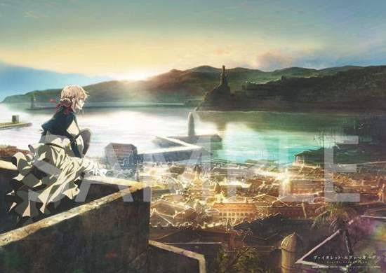 Picture of Violet Evergarden KyoAni Shop Special Poster