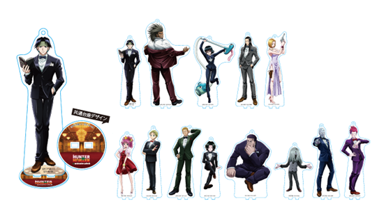 Picture of Hunter x Hunter Animate Cafe Phantom Troupe Edition Goods Large Acrylic Stands