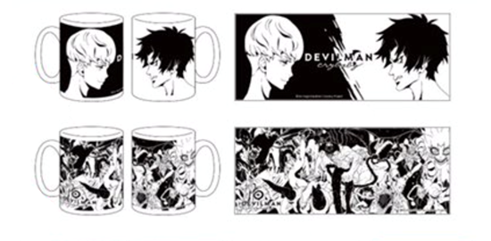 Picture of Devilman Crybaby Science Saru Goods Mugs