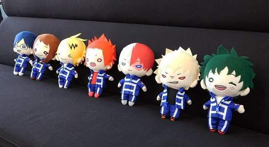 Picture of Boku No Hero Academia Nitotan Large Plushes SECOND RESERVATION
