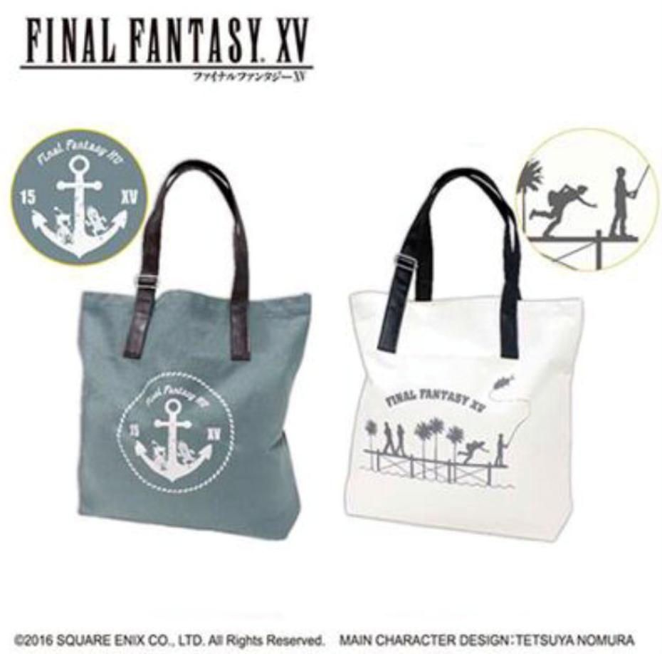 Delivery Moogle Birthday Card Final Fantasy Themed: Final Fantasy XV Summer Tote Bag