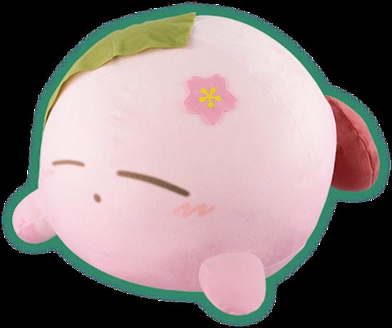 Ichiban Kuji Kirby Fuwafuwa Japanese Style Collection Kirby Sakura Mochi  Plush RARE PRIZE
