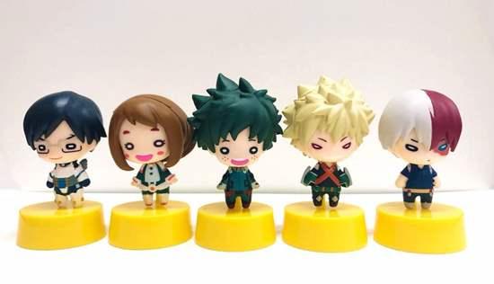 Picture of Boku No Hero Academia Takara Tomy Arts Nitotan Gacha Pon Figurines INDIVIDUALS SECOND RESERVATION
