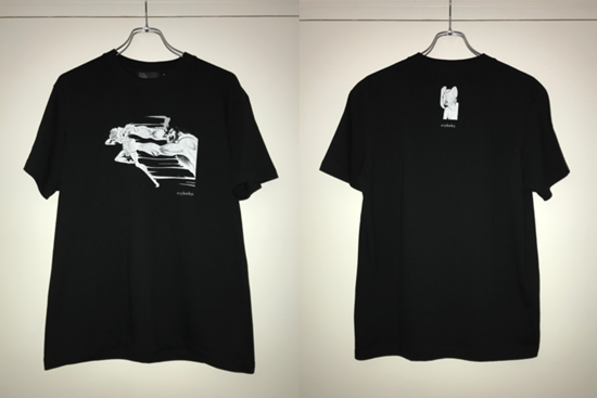 """Picture of Devilman Crybaby x TOKYO CULTUART by BEAMS T-Shirt Black """"Crybaby"""" Design"""