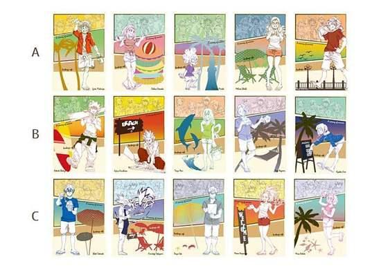 Picture of Boku No Hero Academia Tokyu Hands Beach House Collaboration Goods Postcard Set