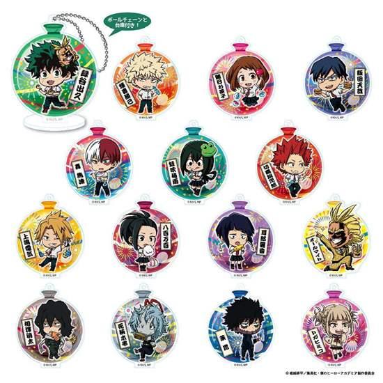 Picture of Boku No Hero Academia Tojikore Tokyo Shitamachi Ver. Acrylic Keychains SET