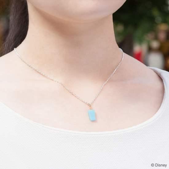 Picture of Kingdom Hearts U Treasure Sterling Silver Roxas Sea Salt Ice Cream Necklace