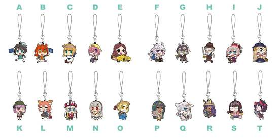 Picture of Fate/Grand Order Fes 2018 3rd Anniversary Goods Rubber Straps