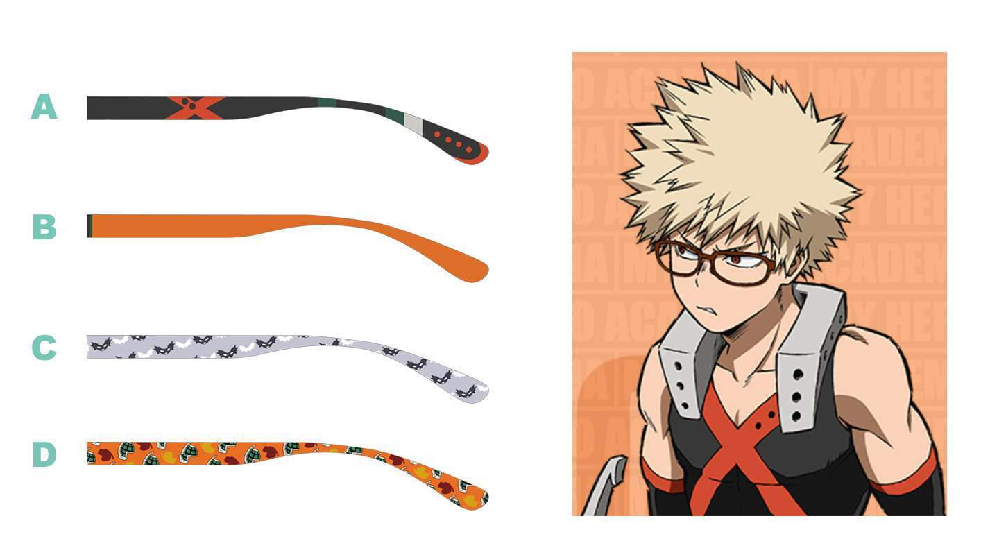 fdbf9f9fd3 ... Picture of Boku No Hero Academia JINS Paint Collaboration Glasses ...