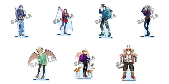 Picture of Fate/Grand Order Fes 2018 3rd Anniversary Goods Acrylic Stands Alps Division