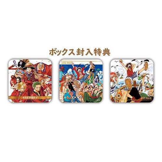 Picture of One Piece Shonen Jump 50th Exhibit Goods Art Coasters INDIVIDUAL