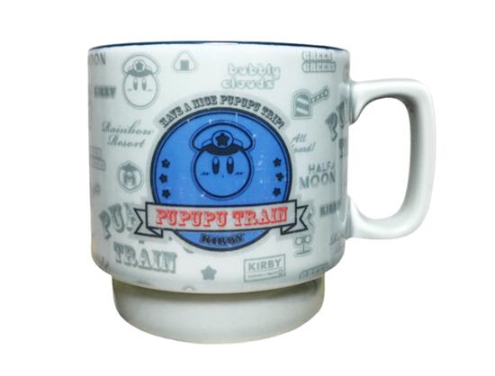 Picture of Kirby Pupupu Train Collab Goods Mug