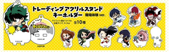Picture of Boku No Hero Academia Good Smile Company Animate Cafe Acrylic Stand BLIND PACKS