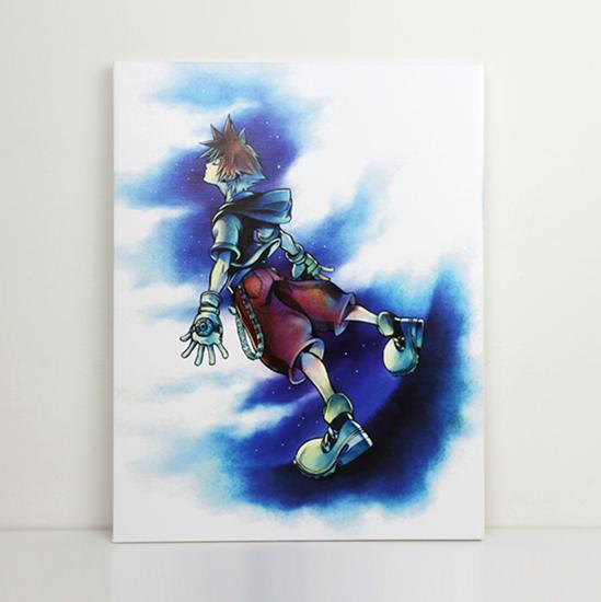 Picture of Kingdom Hearts Square Enix Store Limited Art Canvas Sora