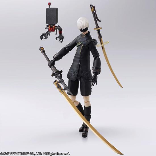 Picture of NieR Automata YorHa 9S Bring Arts Figurine Set