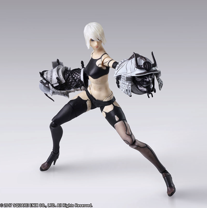 ... Picture of NieR Automata YorHa A2 Bring Arts Figurine Set ...