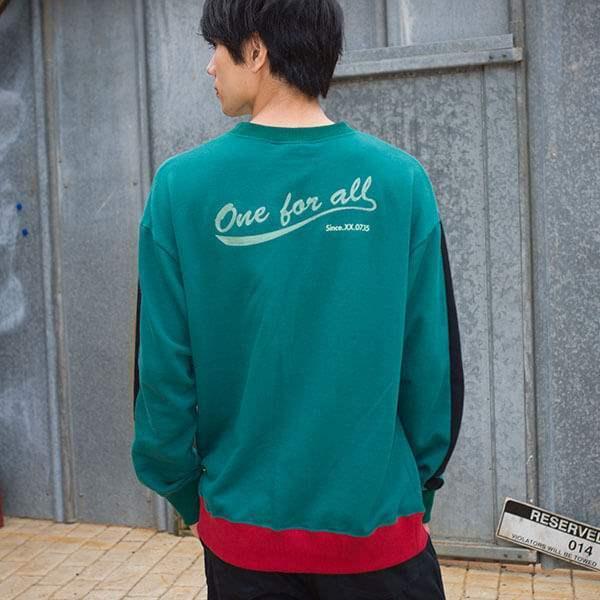 Boku No Hero Academia Super Groupies Deku Sweater