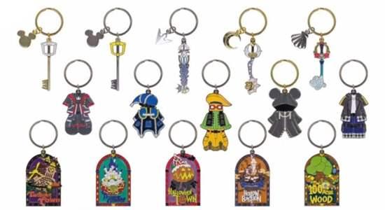 Picture of Ichiban Kuji Kingdom Hearts Kuji Metal Keychains INDIVIDUALS