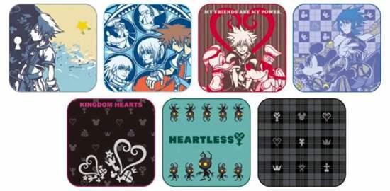 Picture of Ichiban Kuji Kingdom Hearts Kuji Hand Towels INDIVIDUALS