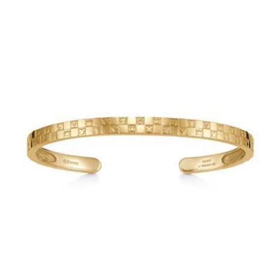 Picture of Kingdom Hearts U Treasure Sterling Silver Double Gold Bangle
