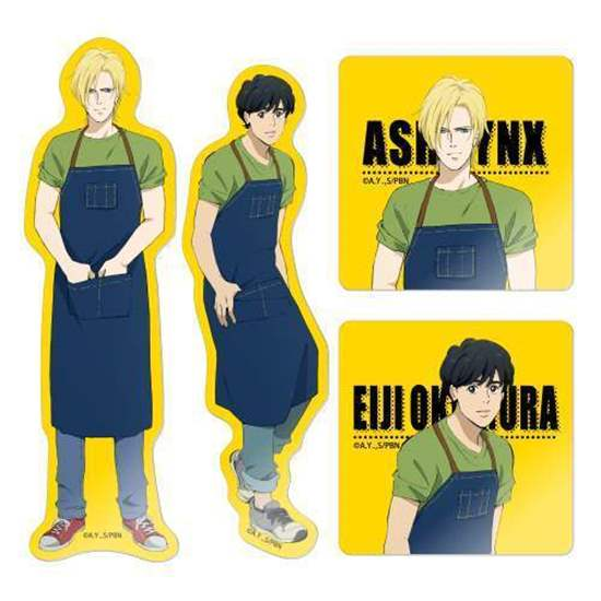 Picture of BANANA FISH Cafe & Bar Goods Stickers BLIND PACKS