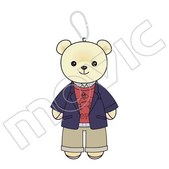 Picture of BANANA FISH Movic Limited Edition Kumameito Teddy Bear Keychains Ash & Eiji