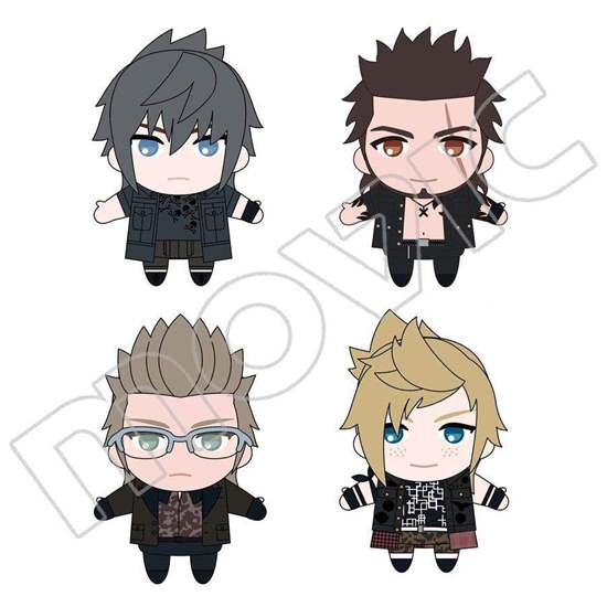 Picture of Final Fantasy XV Movic Puppela Puppet Plush