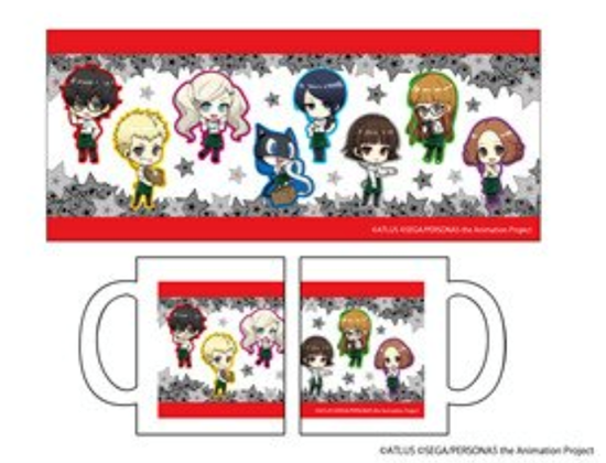 Picture of Persona 5 the Animation Tokyu Hands Collaboration Goods Mug